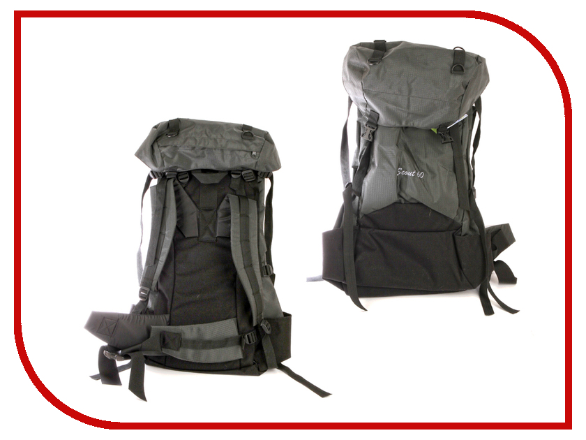 Рюкзак PRIVAL Скаут 60 Light Grey