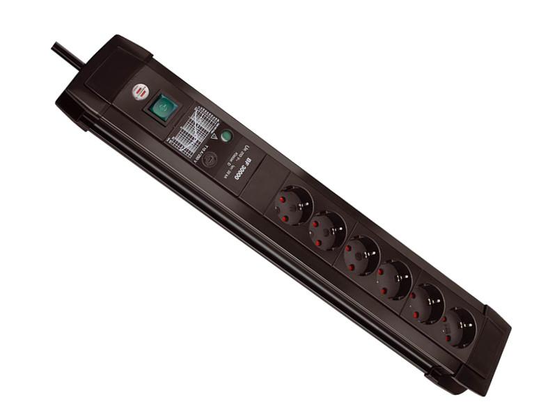 Сетевой фильтр Brennenstuhl Premium-Line 6 Sockets 3m Black 1156000396