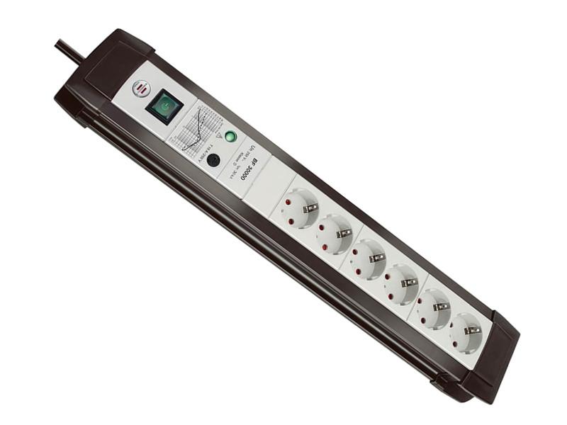Сетевой фильтр Brennenstuhl Premium-Line 6 Sockets 3m Light-Gray 1156050396