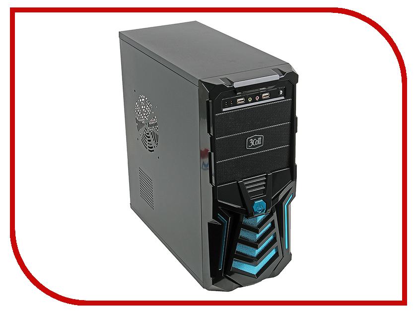 Корпус 3Cott 3C-ATX110GB Gladiator 500W цена