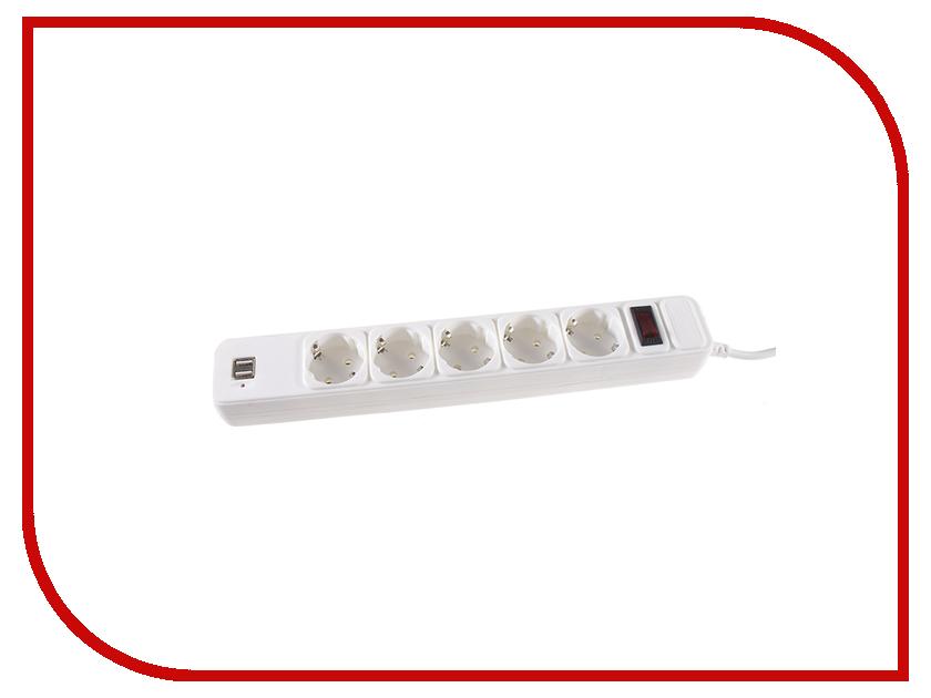Сетевой фильтр 3Cott 3C-SP1005UW-1.8