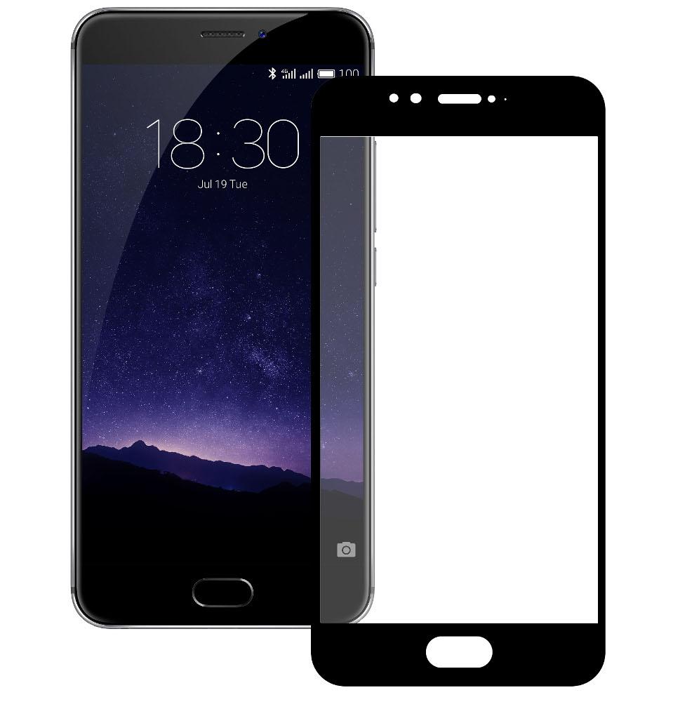 цена Аксессуар Защитное стекло для Meizu MX6 Zibelino TG Full Screen Black 0.33mm 2.5D ZTG-FS-MEI-MX6-BLK