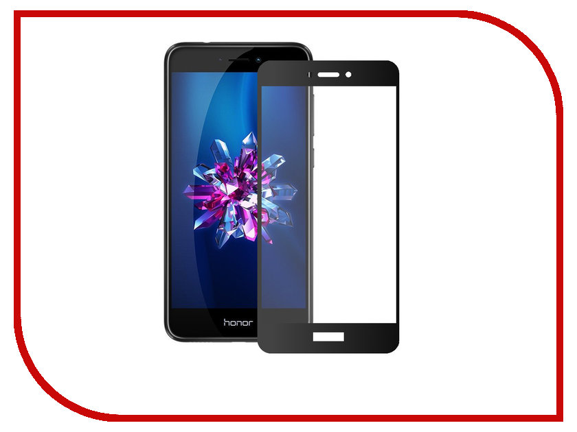 Аксессуар Защитное стекло для Huawei Honor 8 Lite Zibelino TG Full Screen Black 0.33mm 2.5D ZTG-FS-HUA-HON8-LIT-BLK цена