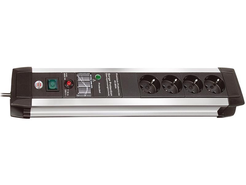 Сетевой фильтр Brennenstuhl Premium-Protect-Line 4 Sockets 3m 1391000604 сетевой фильтр brennenstuhl secure tec 8 sockets 3m 1159490936