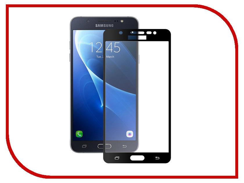 Аксессуар Защитное стекло Samsung J7 2016 J710 Zibelino TG Full Screen Black 0.33mm 2.5D ZTG-FS-SAM-J710-BLK аксессуар чехол samsung galaxy j7 2016 zibelino classico black zcl sam j7 2016 blk