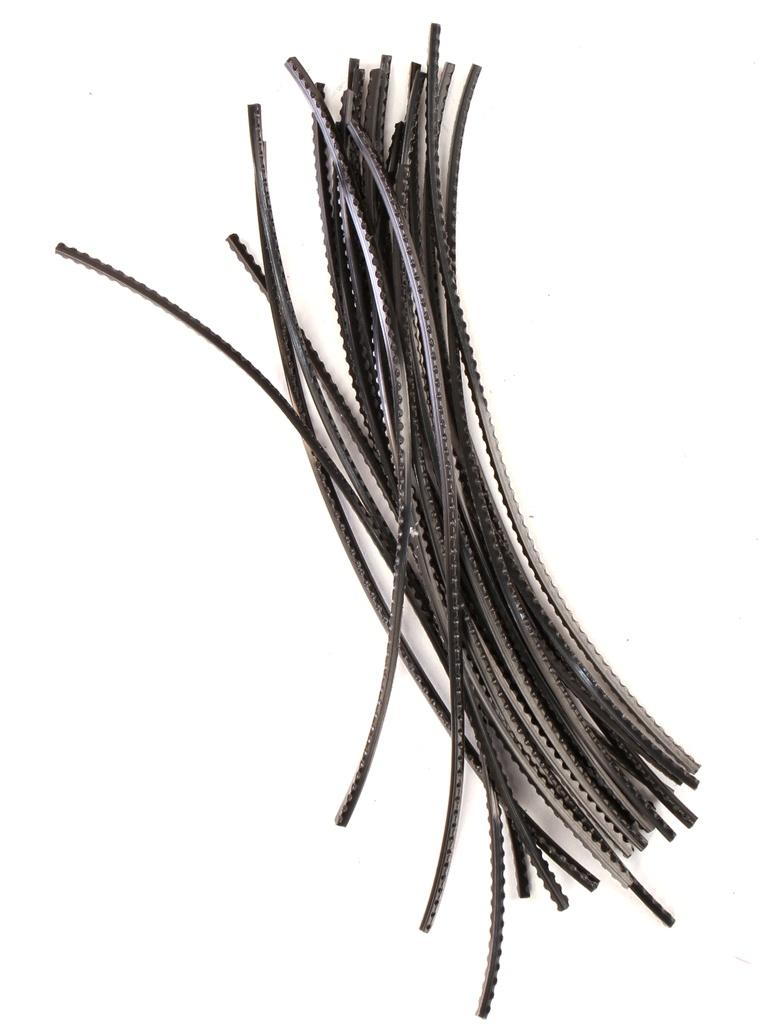 Леска для триммера DDE Shark Saw 3.0mm x 25cm Black 645-181