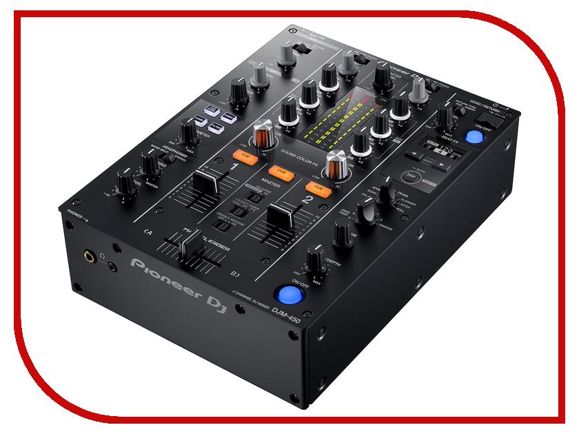 Пульт Pioneer DJM-450 сабвуфер pioneer ts w106m 250вт 1100вт 4ом
