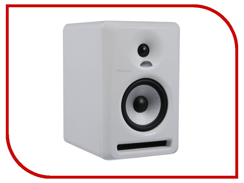 Колонка Pioneer S-DJ50X-W акустическая система pioneer s dj50x w