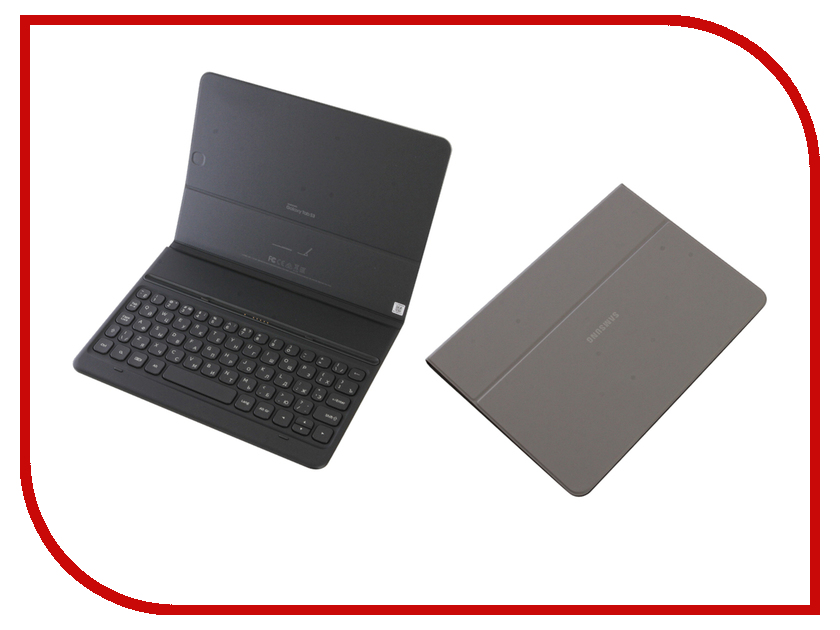 Аксессуар Чехол для Samsung Galaxy Tab S3 9.7 Book Cover Keyboard Grey EJ-FT820BSRGRU detachable wireless bluetooth keyboard case for samsung galaxy tab s3 9 7 t820 t825 cover for samsung stand flip keyboard cases