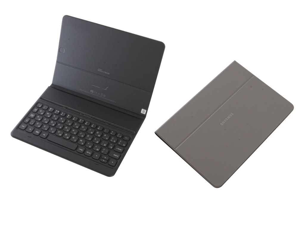 Аксессуар Чехол для Samsung Galaxy Tab S3 9.7 Book Cover Keyboard Grey EJ-FT820BSRGRU portugal brazil br layout new laptop keyboard with touchpad palmrest for samsung series 5 550p5c np550p5c