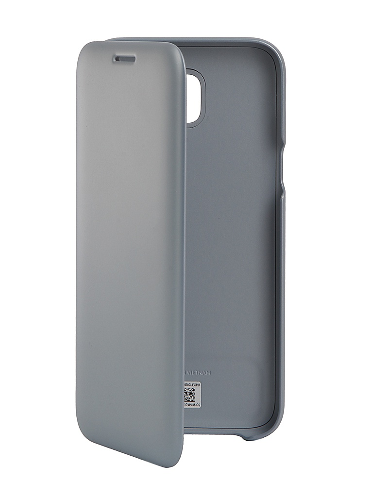 Аксессуар Чехол Samsung Galaxy J5 2017 SM-J530 Wallet Cover Ligth Blue SAM-EF-WJ530CLEGRU аксессуар чехол zibelino для samsung sm j730f galaxy j7 2017 cover back elegant grey zcbe sam j730f gry