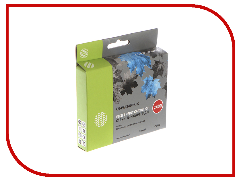 Картридж Cactus Light Blue для MAXIFY iB4040/ МВ5040/ МВ5340 cactus cs pg37 для canon