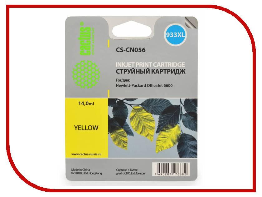 Картридж Cactus №933 Yellow для DJ 6600 тонер картридж cactus cs ep22s