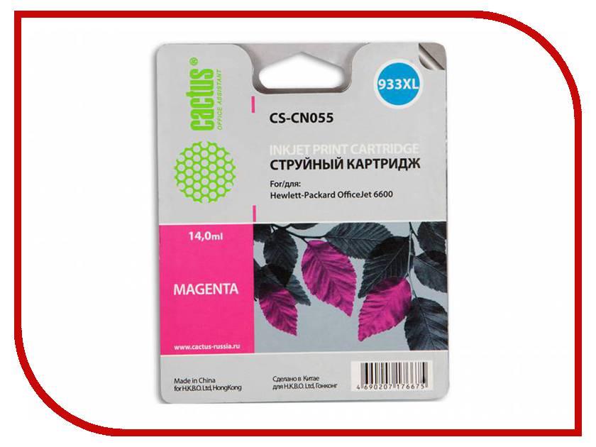 Картридж Cactus №933 Magenta для DJ 6600 картридж для принтера nv print для hp cf403x magenta