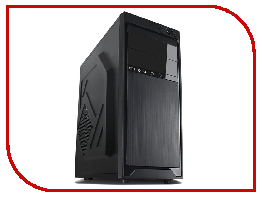 Корпус 3Cott 4401 ATX 450W Black корпус in win emr016 450w black silver