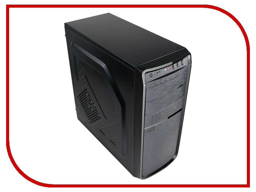Корпус 3Cott 4403 ATX 450W Black корпус in win emr016 450w black silver