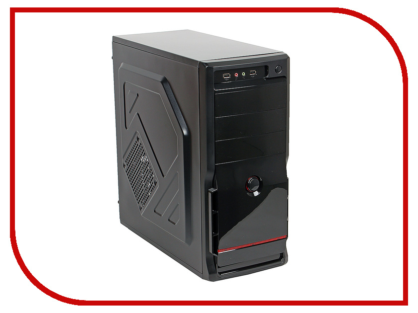 Корпус 3Cott 4405 ATX 450W Black корпус in win emr016 450w black silver