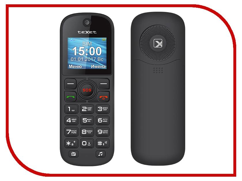 Сотовый телефон teXet TM-B320 Black texet tx d7455a купить