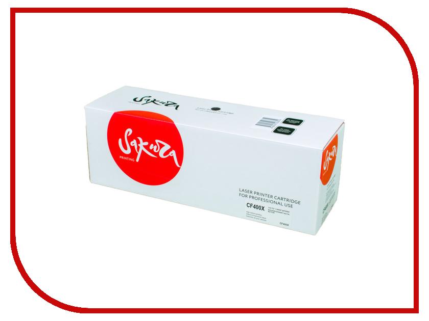 Картридж Sakura Black для Color LaserJet Pro M252n/M252dn/MFP277dw/277n картридж sakura black для laserjet 4200 4300 4240 4240n 4250 4350 4345 series