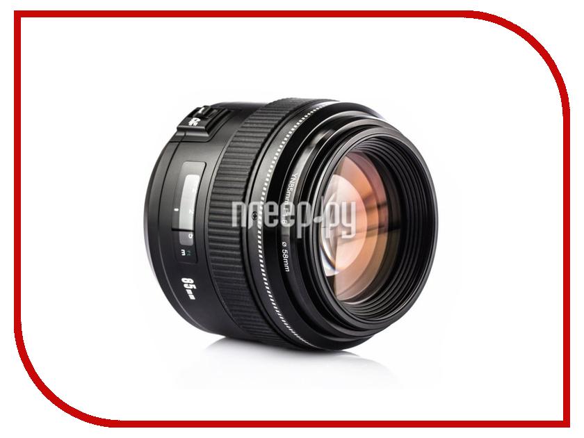 Объектив YongNuo Canon EF 85 mm f/1.8