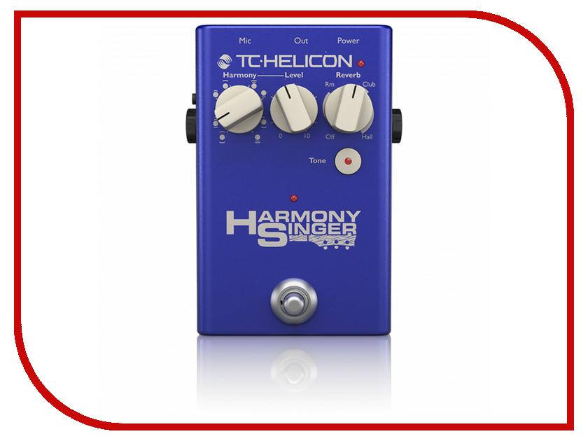 Педаль TC Helicon Harmony Singer 2 педаль tc helicon ditto mic looper