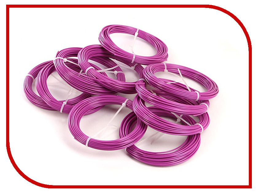 Аксессуар Spider Box Mono ABS 10шт по 10m Light-Violet