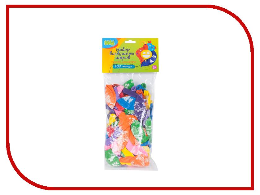 Набор воздушных шаров Bebelot День рождения 100шт BHO1705-033 игрушка для активного отдыха bebelot захват beb1106 045
