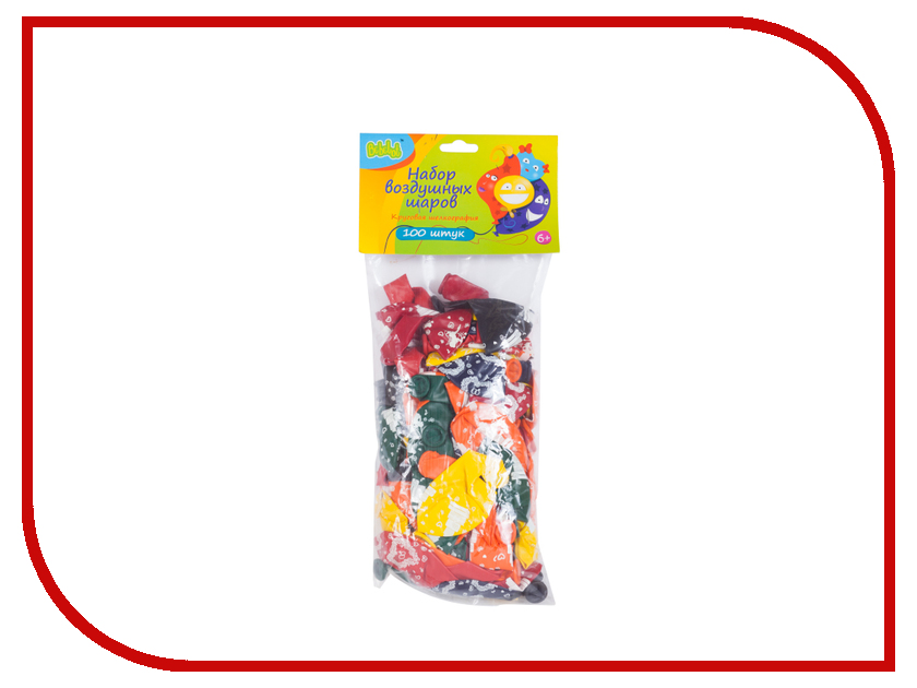 Набор воздушных шаров Bebelot День свадьбы 100шт BHO1705-036