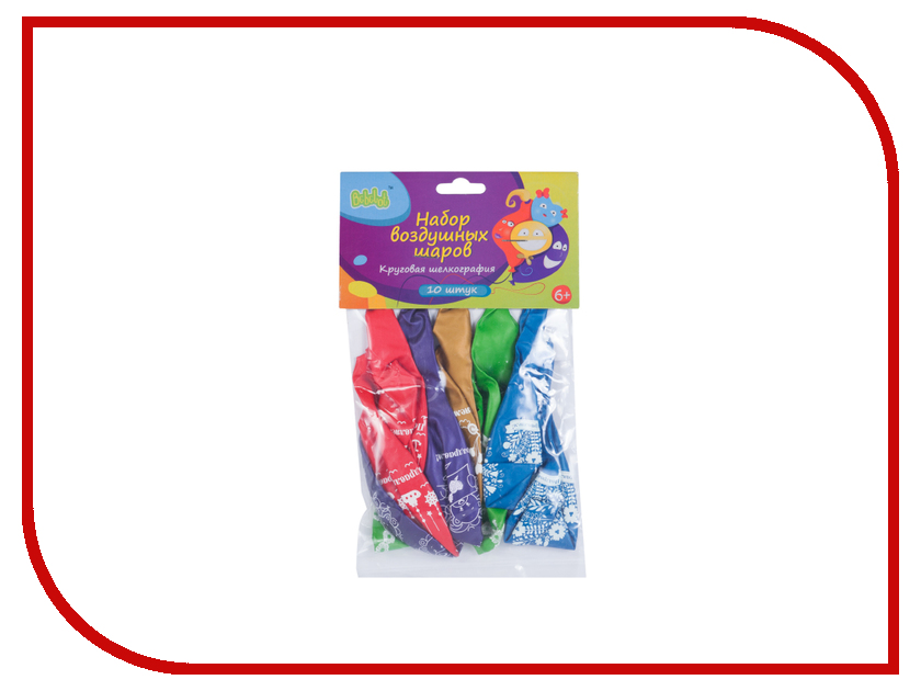 Набор воздушных шаров Bebelot Поздравления 10шт BHO1705-032