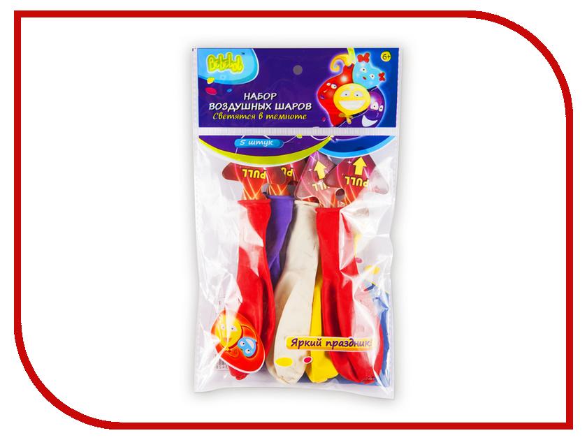 Набор воздушных шаров Bebelot Светящиеся 5шт BHO1705-121 игрушка для активного отдыха bebelot захват beb1106 045