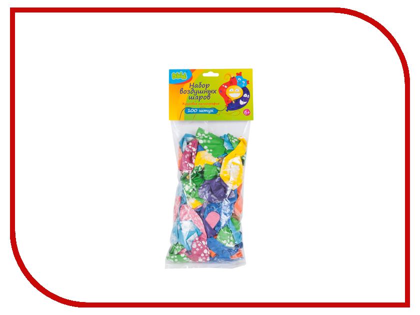Набор воздушных шаров Bebelot Цветы 100шт BHO1705-035 бластер bebelot bm 16 beb1106 050