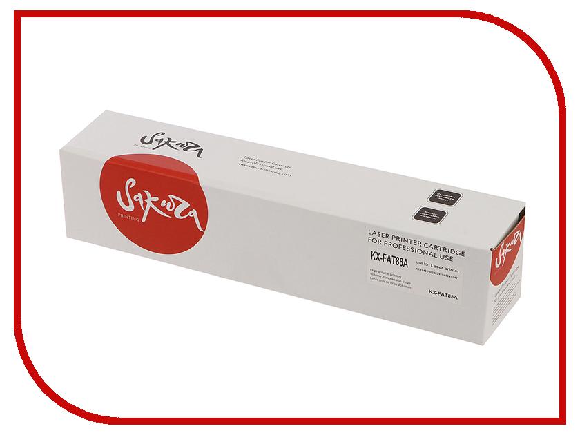 Картридж Sakura Black для KX-FL403/ FL423/ FLC413/ FLC418 электробритва sakura sa 5409bk
