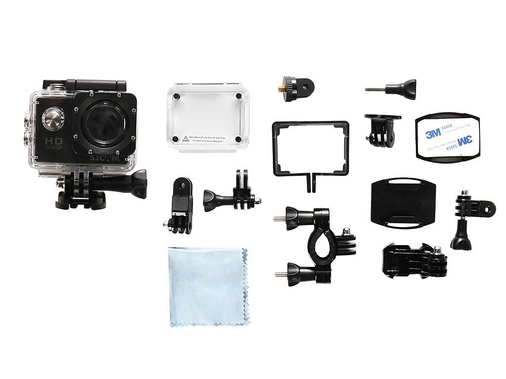 Экшн-камера SJCAM SJ4000 Black Выгодный набор + серт. 200Р!!!