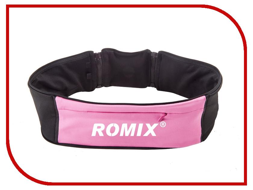 Пояс с тремя карманами ROMIX RH 26 S-M 30369 Pink