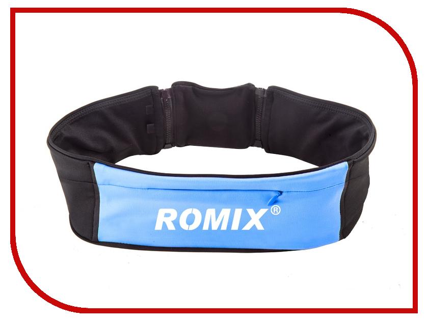 Пояс с тремя карманами ROMIX RH 26 S-M 30369 Blue