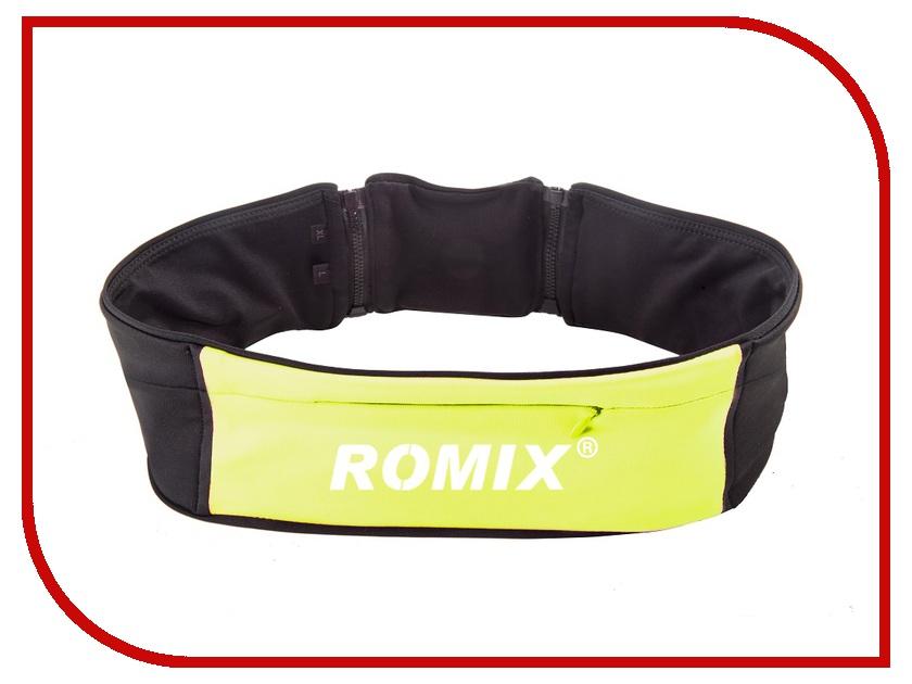Пояс с тремя карманами ROMIX RH 26 L-XL 30370 Green