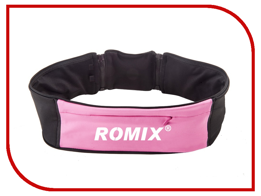Пояс с тремя карманами ROMIX RH 26 L-XL 30370 Pink