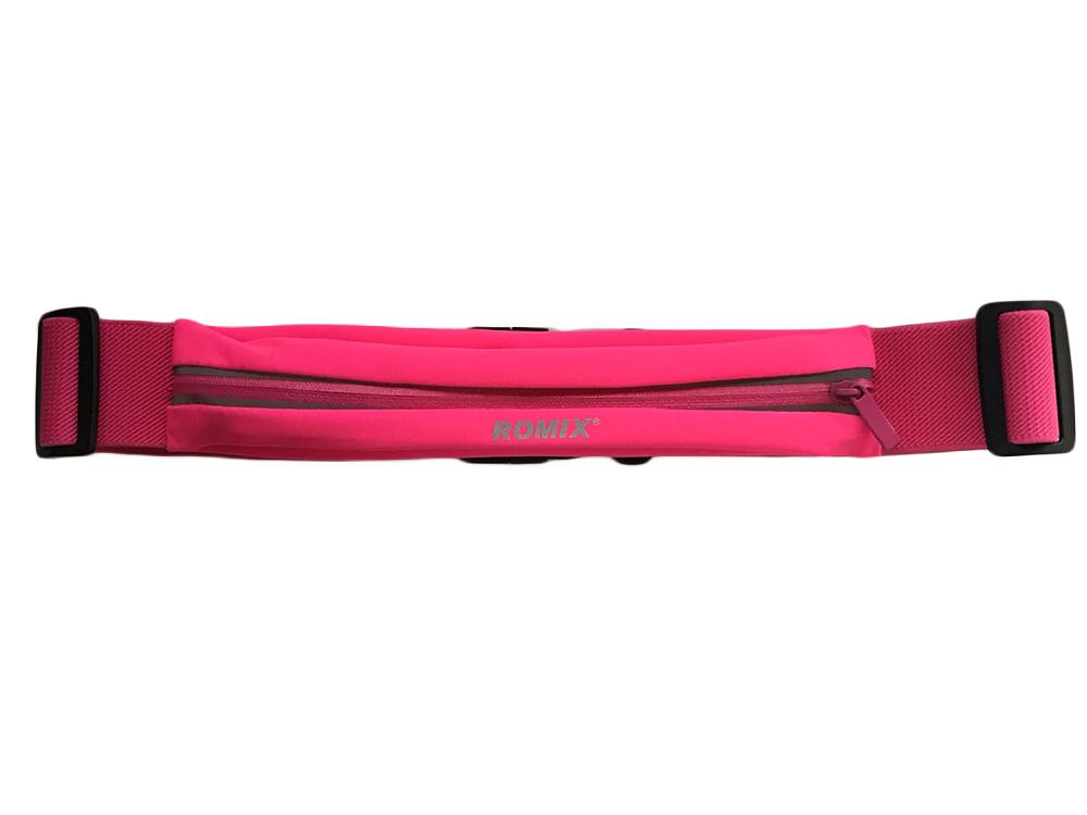 лучшая цена Пояс с одним карманом ROMIX RH 05 30371 Pink