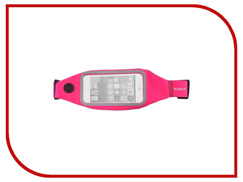 Пояс для телефона ROMIX RH 01-5.5 30375 Pink