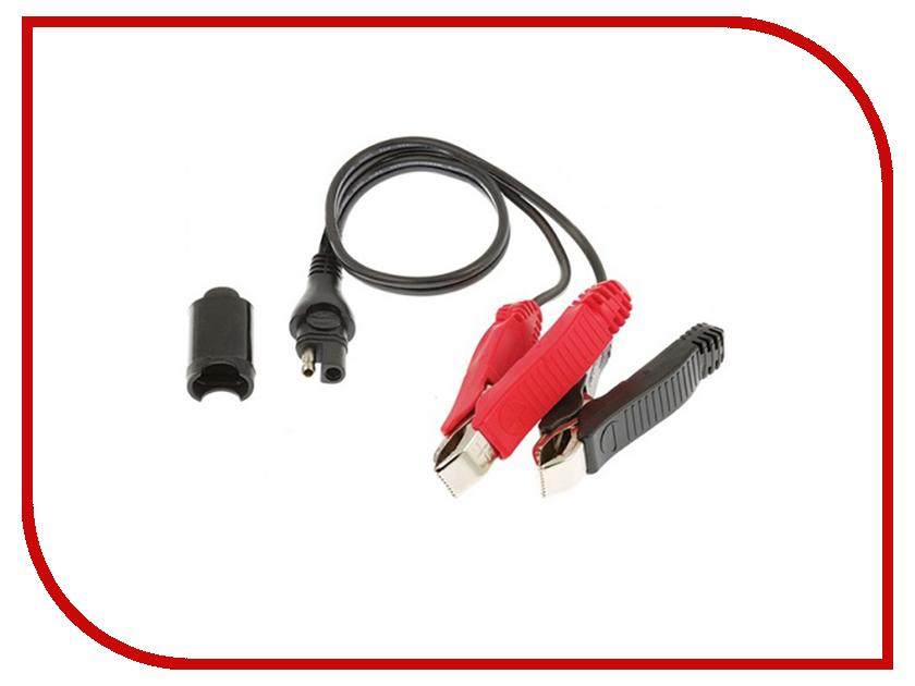 Пусковые провода OptiMate Крокодил SAE кабель в прикуриватель 12в мото din и авто sae optimate o2