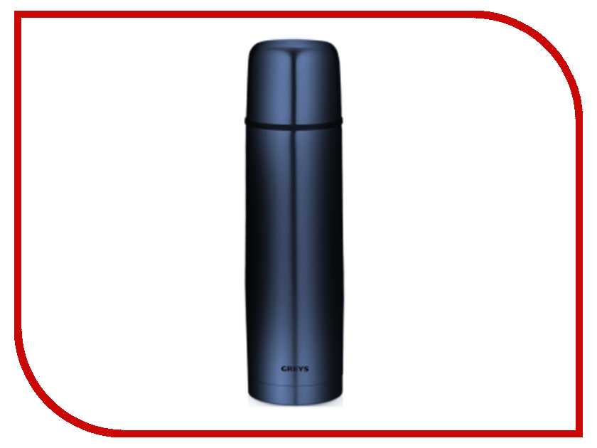 Термос Greys QES-001 750ml Blue roswheel 52520 outdoor cycling bike stainless steel water bottle blue 750ml