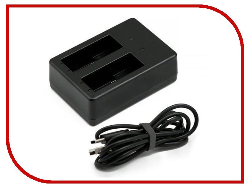 Аксессуар RedLine RL433 Зарядное устройство для двух аккумуляторов GoPro Hero 5 аксессуар redline переходник адаптер с gopro на штативный винт rl218