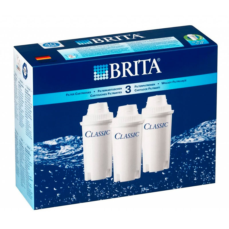 Картриджи Brita Classic 3 штуки 1012169