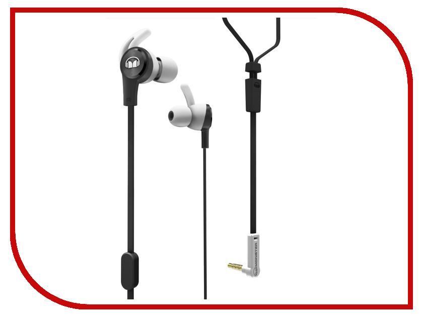 Гарнитура Monster iSport Achieve In-Ear Black 137092-00 гарнитура monster isport achieve bluetooth black in ear wireless 137089 00
