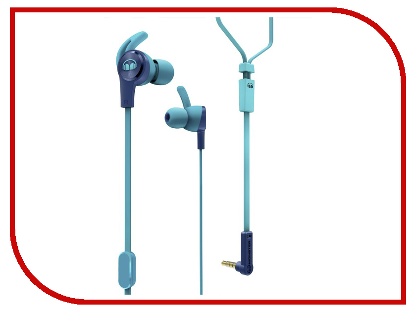 Monster iSport Achieve In-Ear Blue 137093-00 наушники monster isport intensity in ear wireless blue 137095 00