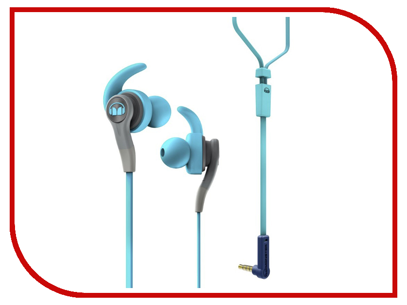 Гарнитура Monster iSport Compete In-Ear Blue 137083-00