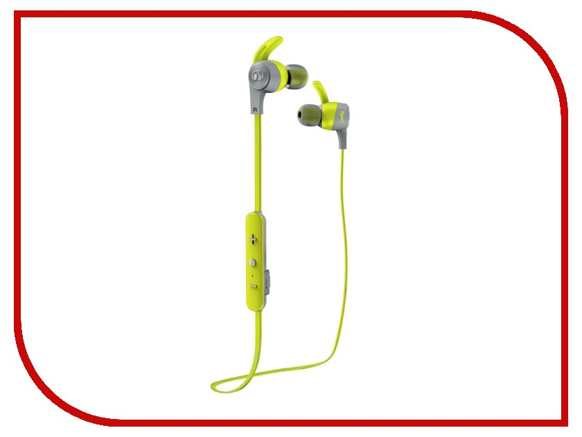 Monster iSport Achieve In-Ear Wireless Green 137088-00 наушники monster isport intensity in ear wireless blue 137095 00