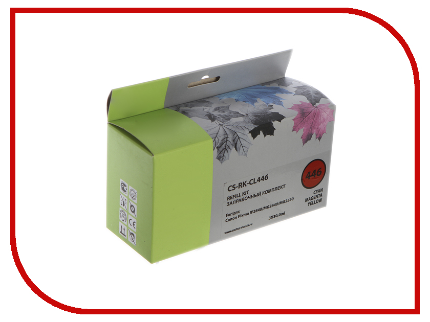 Тонер Cactus CS-RK-CL446 Multicolor 90ml для Canon Pixma MG2440/MG2541