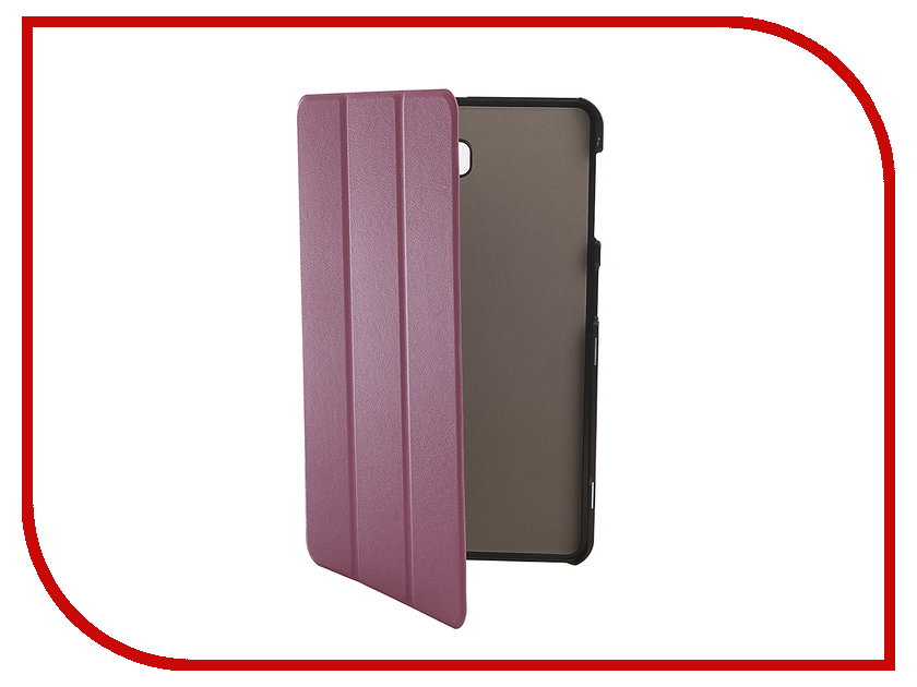 Аксессуар Чехол для Samsung Galaxy Tab A 10.1 SM-T580 Palmexx Smartbook Purple PX/SMB SAM TabA T580 Purp slim magnetic stand smart pu leather cover case for samsung galaxy tab a 10 1 2016 t585 t580 sm t580 t580n tablet cases film pen