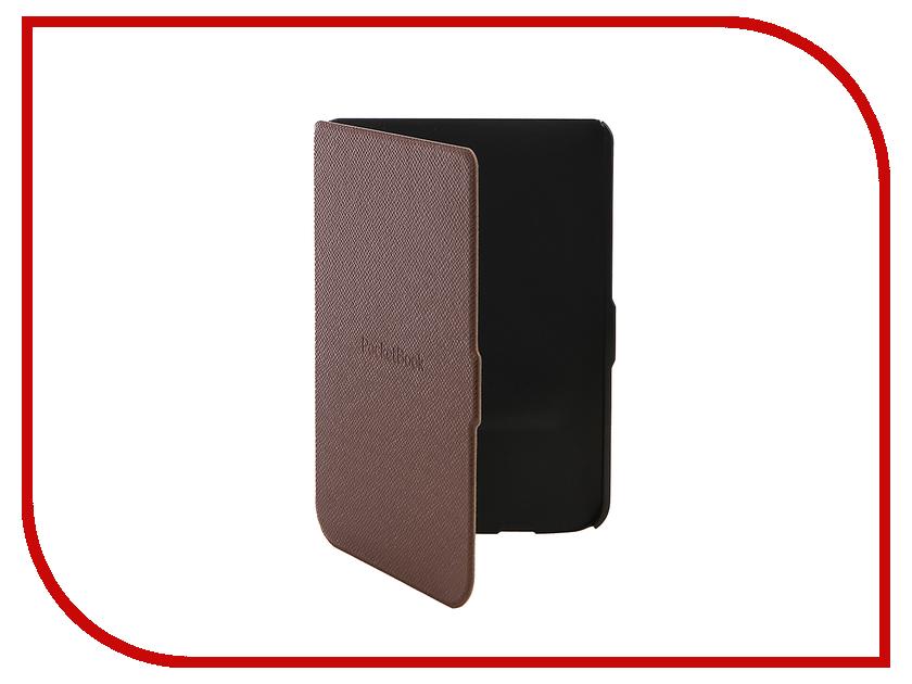 Аксессуар Чехол PocketBook 614/615/625/626 Brown PBC-626-BR-RU электронная книга pocketbook 626 plus gold pb626 2 g ru